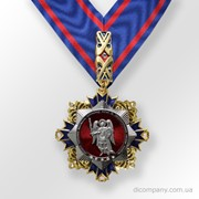 Орден на ленте Комитета содействия инвалидам ветеранам милиции и правоохранительных органов Украины DIC–0850 фото