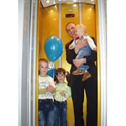 Коттеджные пассажирские лифты без машинного помещения фото