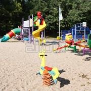 Строительство детских площадок фото