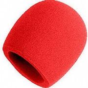 Ветрозащита для микрофона Invotone WS1\RD, красный фото