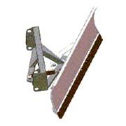 Отвал механический на раму погрузчика ПМГ-320М.45 фото