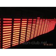 Красный Авто эквалайзер / автоэквалайзер на заднее стекла автомобиля, размером 80*19 см фото