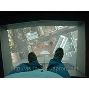 Стеклянный пол из закаленного стекла