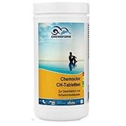 Хлорный препарат в таблетках для дезинфекции воды в бассейнах и питьевой воды CHEMOFORM Кемохлор - СН фото