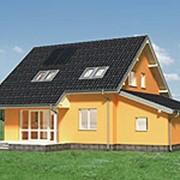 Дома коттеджи жилые, Проект Сосна Эко фото