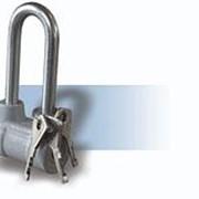 Замок навесной Чебоксары ВС-2-4А-01 набор 4шт + 9 ключей фото