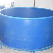 Бассейн круглый для рыбоводства объем 2,9 м3 полипропилен фото