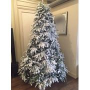 Европейская новогодняя ёлка с искусственным снегом 3D - 180 см, 210 см, 240 см фото