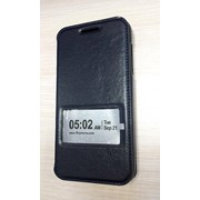 Чехол-книжка для HTC Desire 610 черная фото