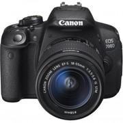 Цифровой фотоаппарат Canon EOS 700D + объектив 18-55 DC III (8596B116) фото