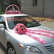 Украшения на свадебные машины фото