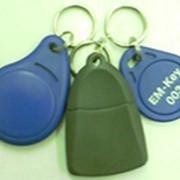 Бесконтактные карточки, брелки EM-Marine, электронные ключи фото