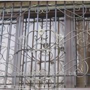 Кованая решетка на окна №23 фото
