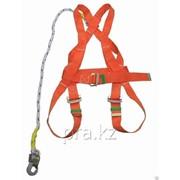 Предохранительный пояс парашютного оранжевый фото