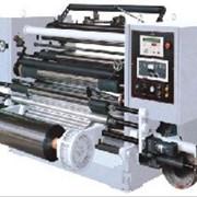 Горизонтальная компьютеризированная автоматическая бобинорезательная разделительная машина PU-GFQ-1300B фото