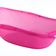Ванночка детская ОКЕАНИК Розовый прозрачный 860x210x520 1шт./уп. фото