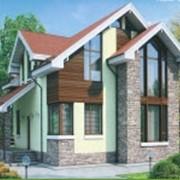 Проектирование комбинированных домов фото