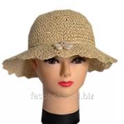 Шляпа женская соломенная 205 фото