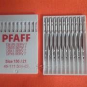 Иглы для промышленных машин PFAFF 130 1уп - 10 игл DВ Х 1 фото