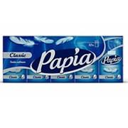 Носовые платочки Papia 4-сл (10шт х 10уп) фото