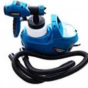 Краскопульт ручной электрический Forsage electro SG60-750F с компрессором и шлангом (220В, 750Вт, бачок 0.8л, фото