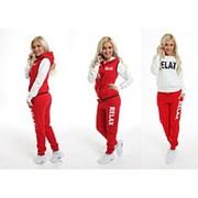 Теплый спортивный костюм-тройка Релакс батал, (разные цвета) фото