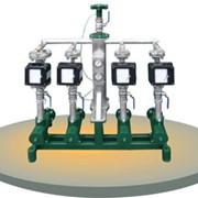 Установка смесевых бензинов УСБ-18/5 - предназначена для смешивания от двух до пяти отдельных составных частей, в частности низкооктанового бензина с добавками, приготовления многокомпонентных смесевых моторных топлив, в том числе с добавками растительно фото