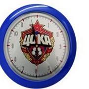 Часы настенные пластик/металл фото