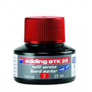 Edding Чернила для заправки, пигментные, капиллярная система, 25 мл Цвет Красный фото