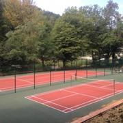 Строительство теннисных кортов, спортивных площадок фото