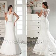 Узкое свадебное платье мод.607 фото