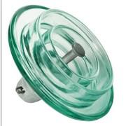Скляні високовольтні ізолятори для забрудненого середовища: ПСВ120 (U120BP) фото