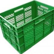 Пластмассовые ящики, посуда и ведра фото