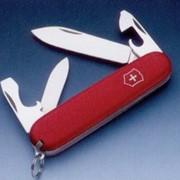 Recruit EcoLine Victorinox нож складной офицерский, 10 в 1, Красный, (2.2503) фото