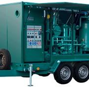 Станция масляная мобильная УВМ 10/15 для очистки от механических примесей и термовакуумной очистки от воды и газов. Дегазация трансформаторных масел фото