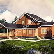 Деревянный дом из бруса Костино фото