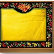 Коробка-сундучок малый (для одного полотенца 70х140) Хохлома 285х230х50 фото