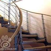 Лестницы для дома металлические фото