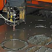 Лазерная порезка металлопроката фото
