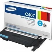 Картридж Samsung CLT-C407S фото