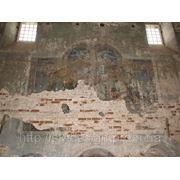 Реставрация фрески фото