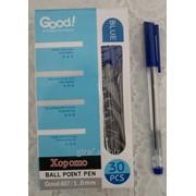 Ручка шариковая Good!, цвет синий 607-1 фото