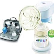 Электронный молокоотсос Philips AVENT в наборе Деловая мама фото