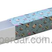 Упаковка для макарон, 50х195х50 мм., дизайн 10 фото