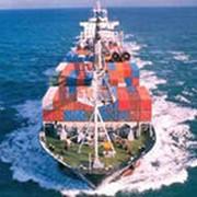 Морские контейнерные грузоперевозки фото