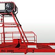 Подъемник строительный ПС 2000 с радиоуправлением фото