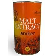 Неохмеленный солодовый экстракт Muntons Amber (1.5 кг.) фото