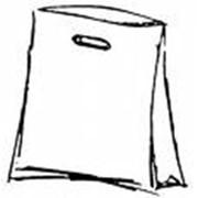 Пакет с вырубной ручкой фото