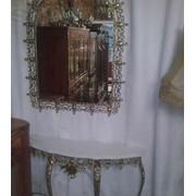 Консоль и зеркало фото