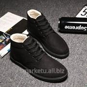 Мужские зимние ботинки фото